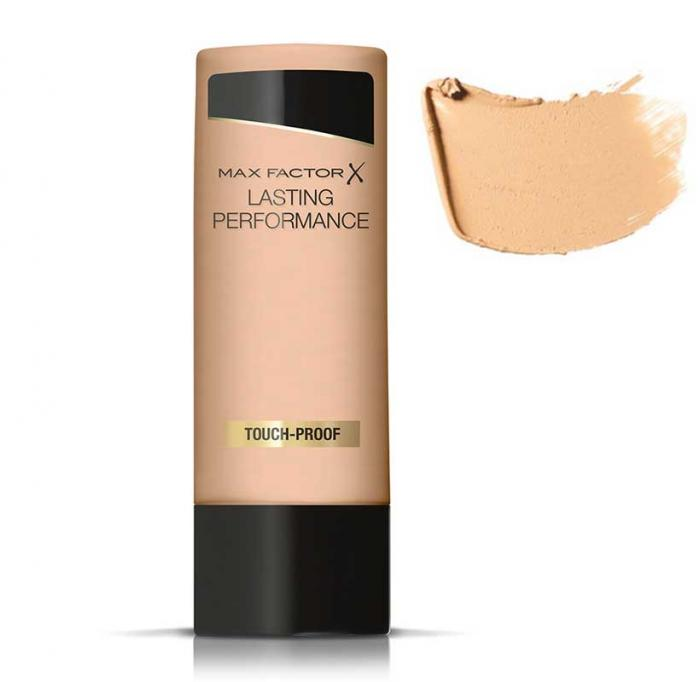 Fond de Ten Lichid rezistent la transfer MAX FACTOR Lasting Performance Touch-Proof - 105 Soft Beige, 35ml-big