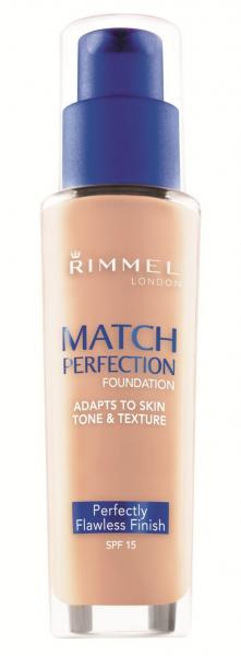 Fond de Ten Rimmel Match Perfection - 201 Classic Beige, 30 ml-big