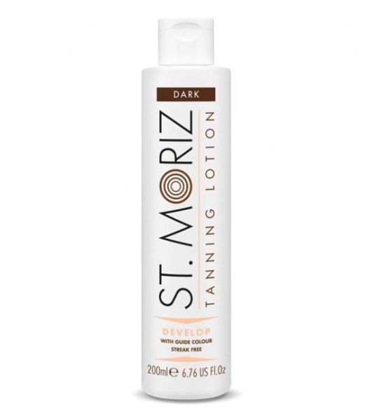 Lotiune Autobronzanta Profesionala ST MORIZ Tanning Lotion Develop - Dark, 200 ml-big