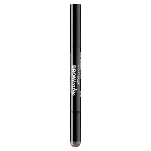 Creion Duo Pentru Sprancene MAYBELLINE Brow Satin - Dark Brown