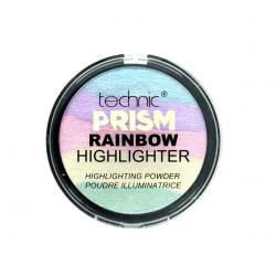 Paleta Iluminatoare Multicolora TECHNIC Prism Rainbow Highlighter Powder, 6g