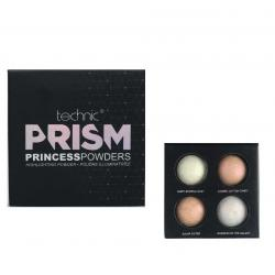 Paleta cu 4 Iluminatoare TECHNIC Prism Princess Powders Highlighting Powder, 4x2g