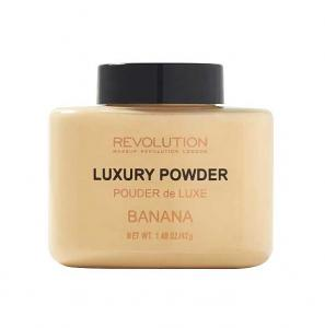 Pudra cu minerale matifianta MAKEUP REVOLUTION Luxury Banana Powder, 42g