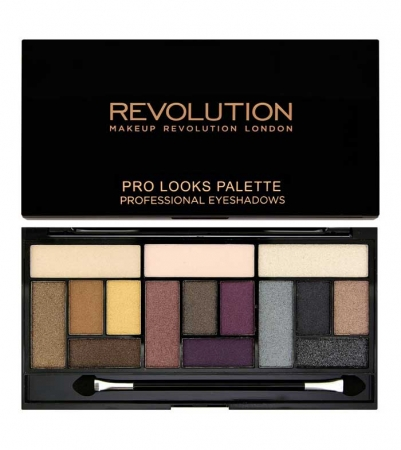 Paleta Makeup Revolution Pro Looks Palette, 3 Looks in 1 - Big Love, 13g