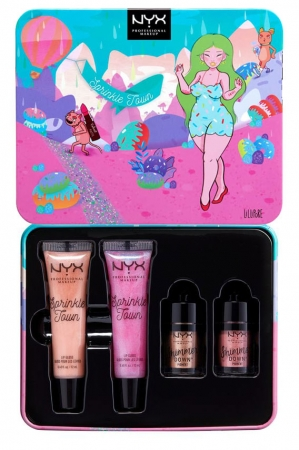Set Cadou NYX Professional Sprinkle Town Eye and Lip Set Limited Edition