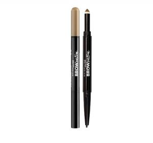 Creion DUO Pentru Sprancene Maybelline BROW Satin - Medium Brown
