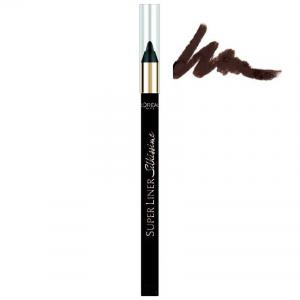 Creion de ochi L'Oreal Superliner Silkissime 24h Waterproof - 02 Brown Temptation
