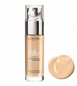 Fond De Ten L'oreal True Match Super Blendable - 3D/3W Golden Beige, 30 ml