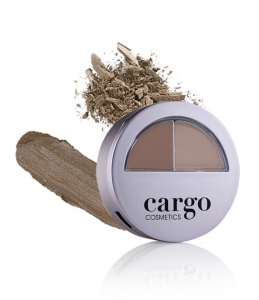 Kit Profesional pentru conturarea sprancenelor CARGO Brow How Defining Kit - Light, 2x1.3 g