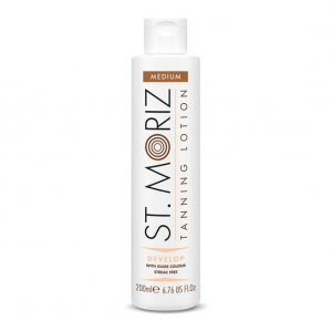 Lotiune Autobronzanta Profesionala ST MORIZ Tanning Lotion Develop - Medium, 200 ml