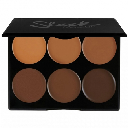 Paleta conturare SLEEK MakeUP Cream Contour Kit Extra Dark 977, 12g