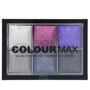 Paleta Cu 6 Farduri Pigmentate Technic Colour Max - Rock Chick