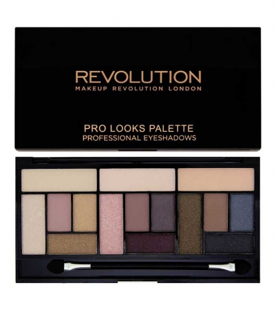 Paleta Makeup Revolution Pro Looks Palette, 3 Looks in 1- Stripped & Bare, 13g