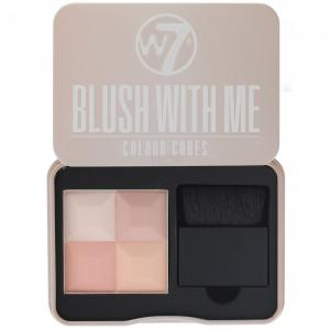 Paleta Profesionala Cu 4 Blush-uri W7 Blush With Me - Getting Hitched