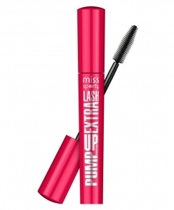 Mascara Miss Sporty Pump Up Extra Lash - 001 Black, 5.7 ml