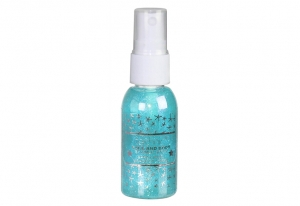 Spray Stralucitor Pentru Fata Si Corp Technic Face And Body Shimmer - Blue, 30 ml