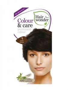 Vopsea De Par Fara Amoniac HennaPlus Hair Wonder-3 Dark Brown