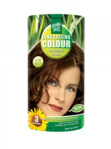 Vopsea de Par HennaPlus Long Lasting Colour - Chocolate Brown 5.35
