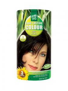 Vopsea de Par HennaPlus Long Lasting Colour - Dark Brown 3