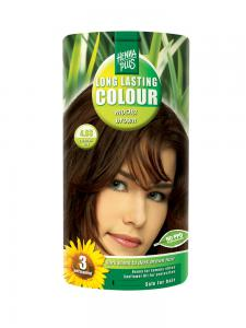 Vopsea de Par HennaPlus Long Lasting Colour - Mocha Brown 4.03